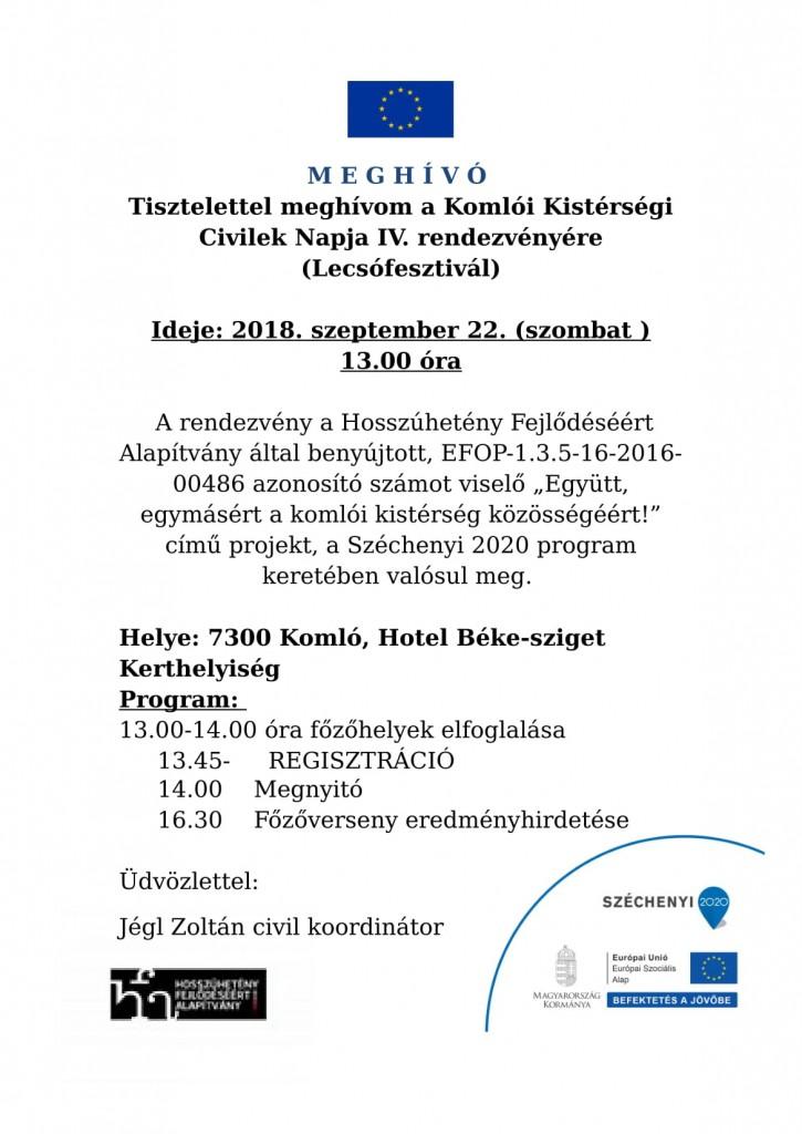 meghivó- Civilek napja 4.-Komló-2018.09.22.-1