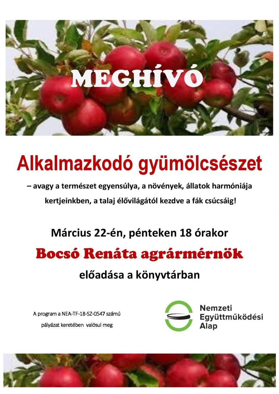 Gyümölcsészet meghívó